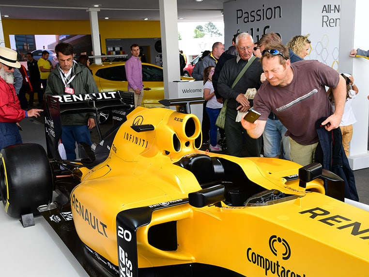 Renault Goodwood Festival of Speed 2016