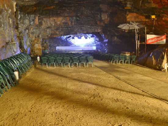 Unusual event venues - Carnglaze Caverns