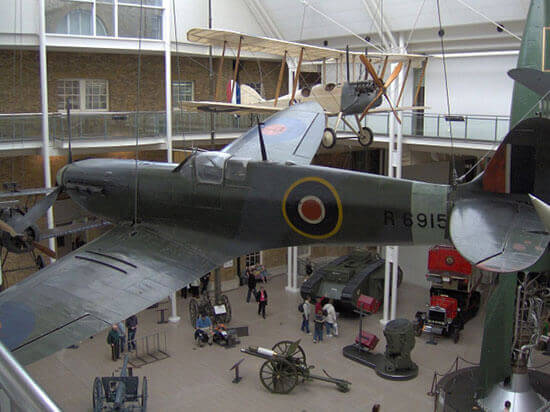 Unusual event venues - Imperial War Museum