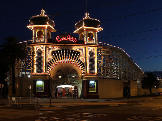 Unusual event venues - Luna Park