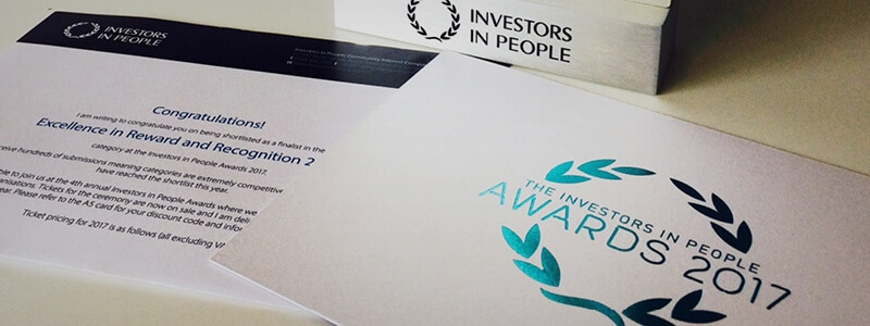 Rapiergroup Investors in People Awards