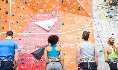 Wall climbing - image