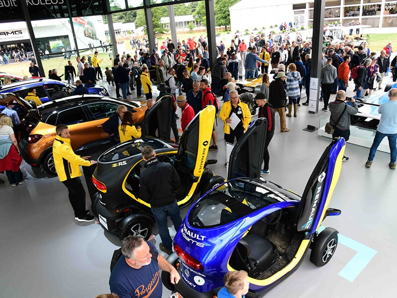 Renault Goodwood Festival of Speed 2017
