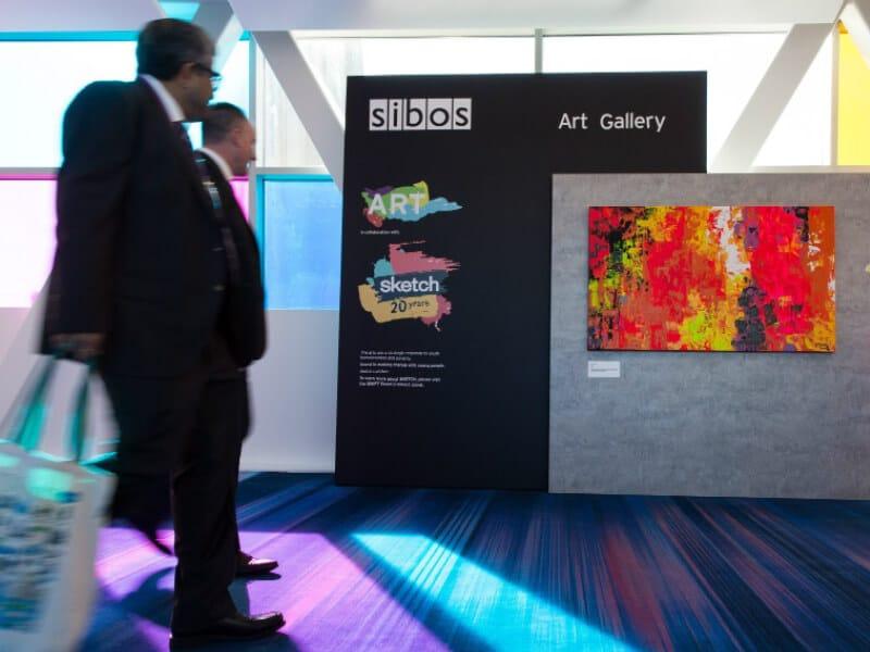 Sibos 2017 Art