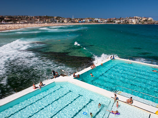 Bondi Beach & Bondi Icebergs Pool Club