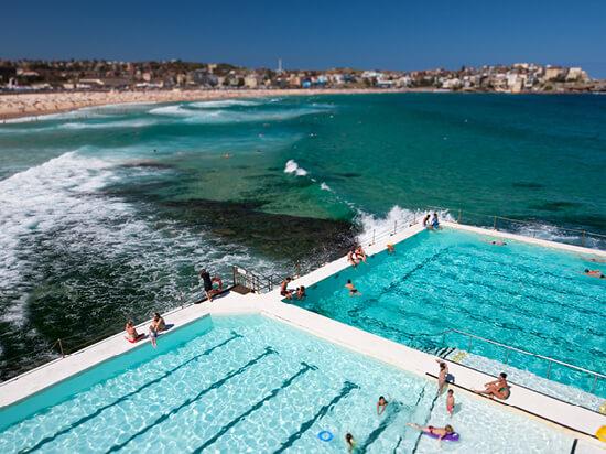 Bondi Beach & Bondi Icebergs Pool Club
