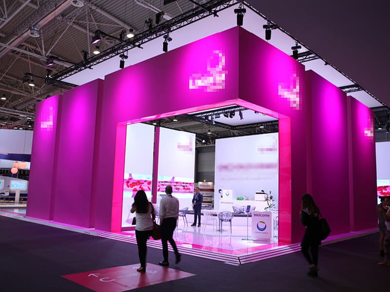 Pharmaceutical Exhibition Stand Design : Daiichi sankyo stand at esc congress the world s leading