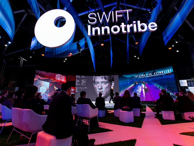 SWIFT Innotribe and Discover Zone