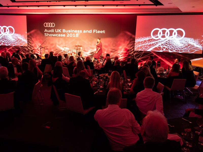 Audi Fleet and Business Showcase