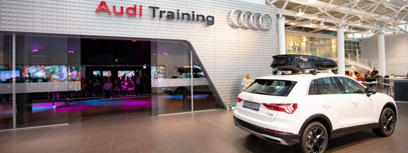 Audi UK awards Rapiergroup with training contract