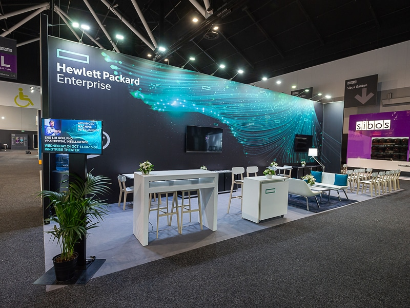 Hewlett Packard Enterprise at Sibos 2018