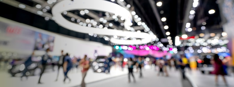 A tech event designed for maximising visitor attention