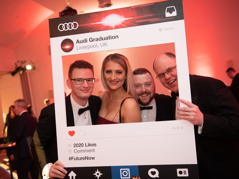 Audi graduation instagram