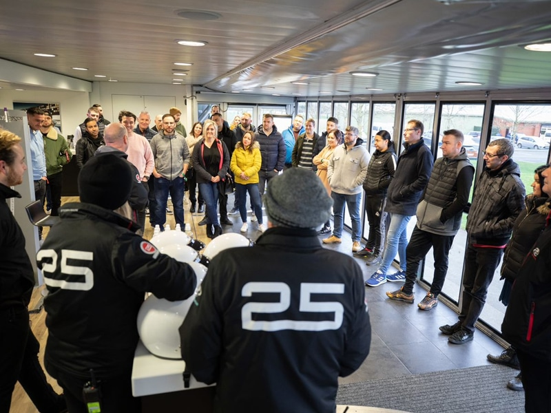 Audi track day briefing